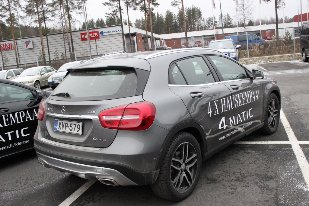 Mercedes-Benz GLA220 4matic