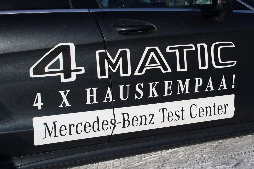 Mercedes Benz Test Center, 4x hauskempaa