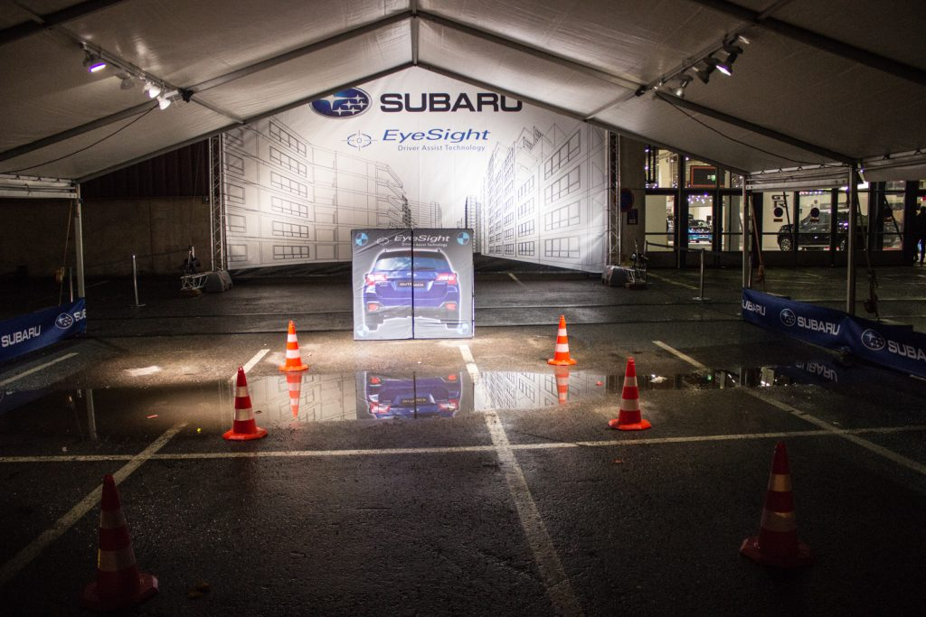 Subaru Easysight automessuilla