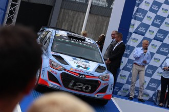 Neste Oil Rally 2015, Hyundai podium